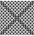 Triangle square seamless pattern vector image vector image