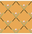 Baseball Sport Inventory Seamless Pattern vector image vector image