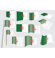 flag of Algeria vector image vector image