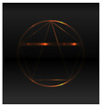 golden ratio background vector image vector image