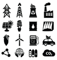 oil and electricity vector image vector image