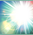 shiny sunny abstract background vector image
