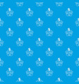 social protest riot pattern seamless blue vector image