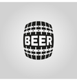 The Beer icon Cask and keg alcohol symbol UI vector image vector image