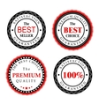 Best Seller Badges Design vector image vector image