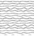 hand drawn wavy dotted lines seamless pattern vector image vector image