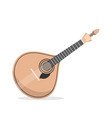 traditional portuguese guitar fado vector image