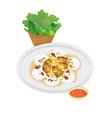 vietnamese food vector image