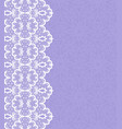 weddding card with lace vector image vector image
