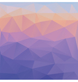 abstract polygonal triangles geometric background vector image