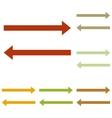 Arrow simple sign vector image vector image