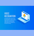 bright voice and sound imitation lines vector image vector image