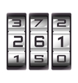 counter device number icon vector image