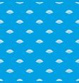 opened oriental fan pattern seamless blue vector image vector image