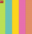 Simple knitted seamless pattern vector image