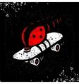 Symbol Speed Skating vector image