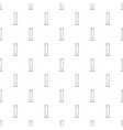 test tube icon outline vector image vector image