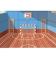 School or university gym hall vector image