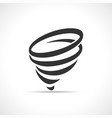 funnel symbol icon design vector image