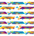 hipster geometric background vector image vector image