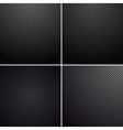 Metal-carbon textures vector