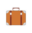 old vintage suitcase vector image