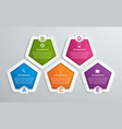 options infographics template infographics for vector image