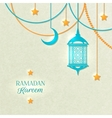 Ramadan Light Color Poster vector image vector image