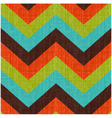 Seamless Retro Zig Zag Pattern vector image vector image