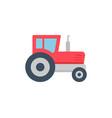 tractor icon vector image