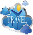 travel 03 resize vector image vector image