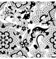 mexican lace seamless pattern vector image vector image