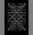 modulor le corbusier cover template armonious vector image vector image