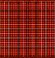seamless tartan pattern checkered background vector image