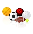 ball set vector image