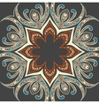 Colourful ornamental background vector image