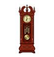 antique grandfather pendulum clock