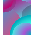 background abstract flow design vector image