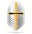 battle helmet 01 vector image vector image