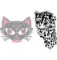 Cat cute tiger art design