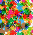Colorful Splashes - Blots Background vector image vector image