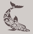 Dolphin ornament vector | Price: 1 Credit (USD $1)