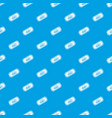 movie ticket pattern seamless blue vector image vector image