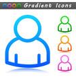 person symbol icon design vector image