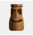 sculpture idol icon cartoon style vector image vector image