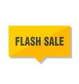 flash sale price tag vector image vector image