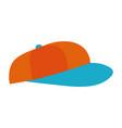 hat cap cartoon vector image