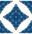 Seamless abstract tiled pattern vintage vector image