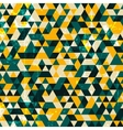 Abstract grunge geometric background vector image