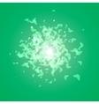 Green Butterflies Background vector image vector image